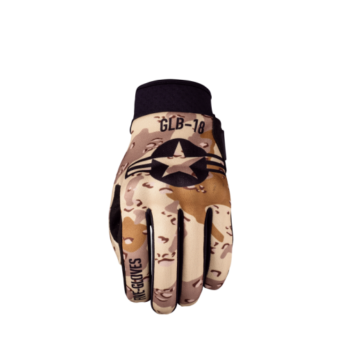 FIVE GLOVES GLOBE MILITARY SAND MOTOSİKLET ELDİVENİ